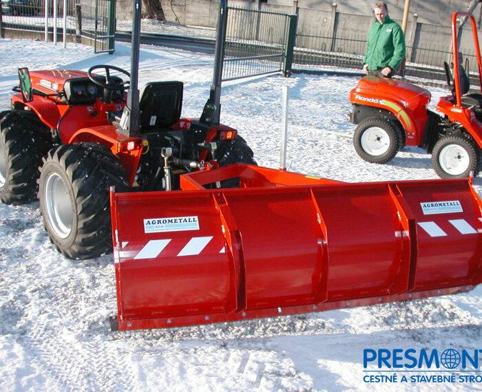 Zadná snehová radlica pre malotraktor ZR-M
